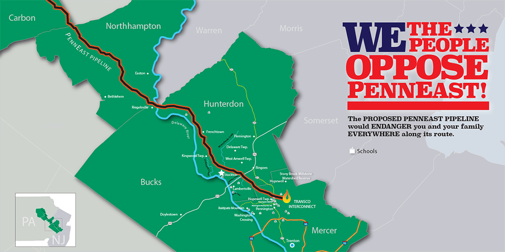 PennEast map route