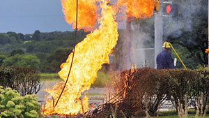 gas pipeline NJ explosion