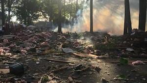 gas pipeline explosion danger NJ killed debris disaster