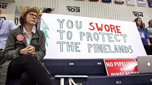 stop pinelands pipeline